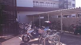自転車置場 屋根付