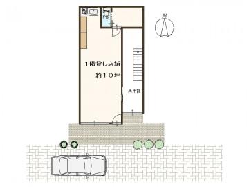 日商ビル1階