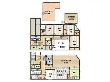 野田邸3階4階屋上_2