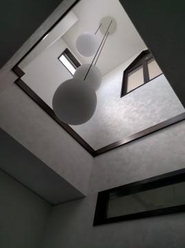 3階玄関吹き抜け天井