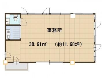 貸事務所 アンビション三和Ⅱ 901号